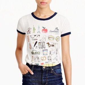 J.Crew New York collector T-shirt